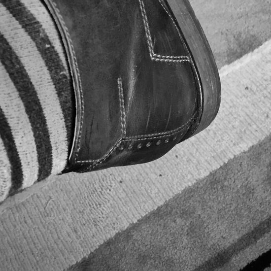 Monochrome Blackandwhite Black And White Black And White Photography Shoe Close-up No People Pair Indoors  Day Low Section