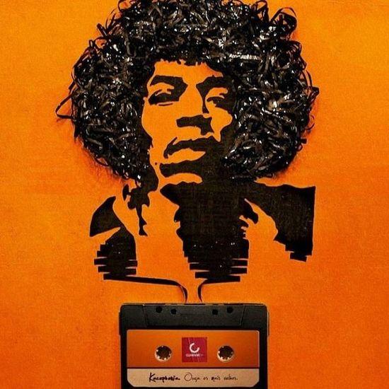 Jimi Hendrix Jimi Psy Psychedelic