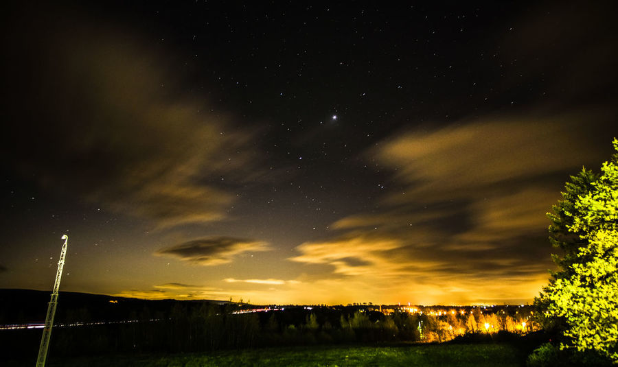 Lancaster Nights. Star - Space Night Sky Tranquility Beauty In Nature Dramatic Sky Tranquil Scene Scenics Nature No People Low Angle View Outdoors Landscape Astronomy Tree Milky Way Constellation Grass Galaxy FUJIFILM X-T10 EyeEm Sky And Clouds Urban Skyline Fujifilm Photooftheday Live For The Story