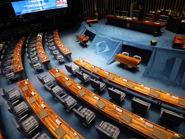 Brazil Congressonacional High Angle View No People Office Brasília - Brazil Brasilia Brasil DF