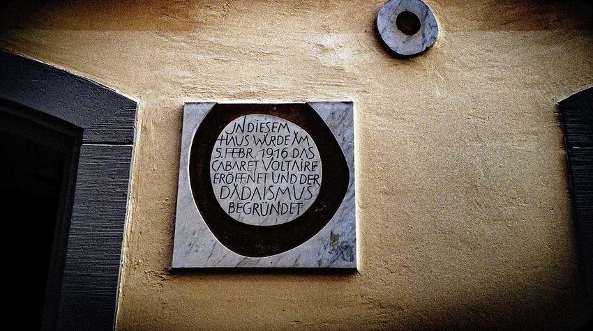 Dadaism Swiss Zürich Art