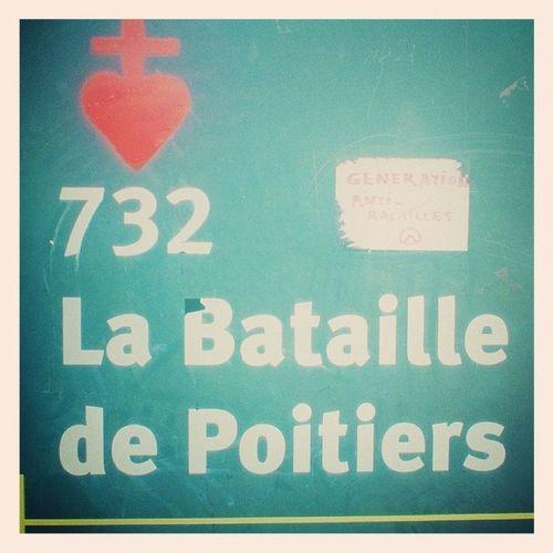 Site de la bataille de 732 Poitiers - Identitaires Haine  France