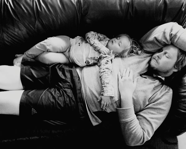 Monochrome Photography Love Family Togetherness Fatherhood Moments Closestmoments Deepestlove DaddiesGirl Middlechild