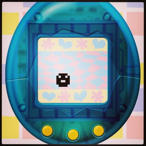 Lol passing the time till I fall asleep. Tamagotchi Oldschool App