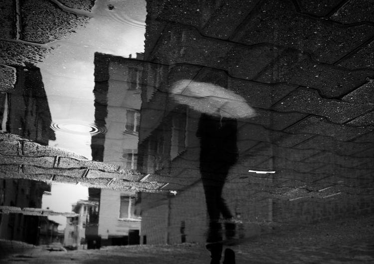Umbrella Streetphotography EyeEm Gallery Streetphoto_bw Women Of EyeEm EyeEm Best Shots EyeEm Best Shots - Black + White Bnw_friday_eyeemchallenge Street Photographer-2016 Eyem Awards The Week On EyeEm Bnw_society Silhuette Bnw_captures Reflection_collection