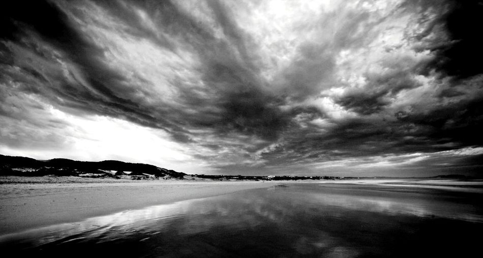 Stormy sky. Landscape Sea Seascape Sea View Stormy Weather Ocean Waves Outdoors Nature EyeEm Best Shots - Black + White