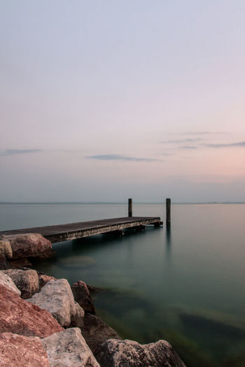 Beauty In Nature Day Horizon Over Water Nature Outdoors Scenics Sky Water