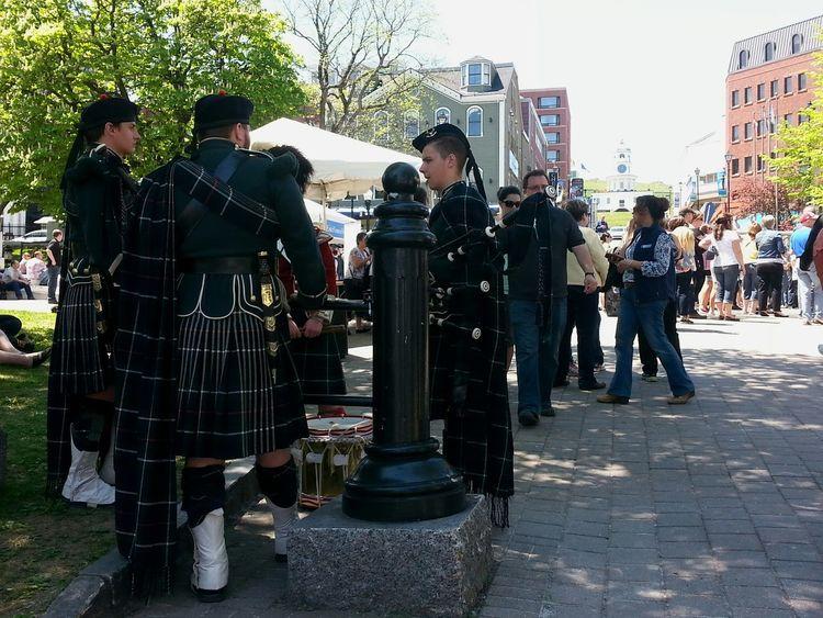 Men in kilts on my lunch break :) Men In Kilts Kilts Halifax New Scotland