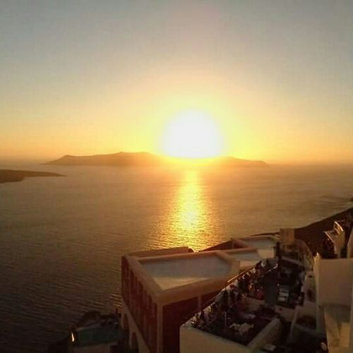Gopro Hero4 Session Santorini, Greece Sunset Noeffect NoEditNoFilter
