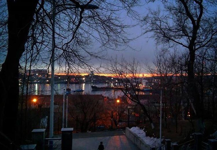 18.12.15 Spectacular sunrises 🌇🌉🗼 in MSU⚓⛵🇷🇺 мгуневельского LG
