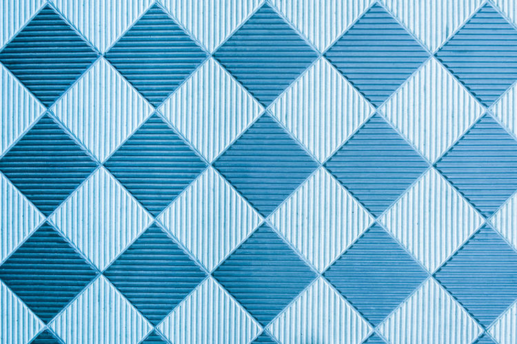 Copy Space Stripes Abstract Backgrounds Block Shape Blue Close-up Creativity Design Full Frame Geometric Shape In A Row No People Outdoors Pattern Platform Repetition Shape Side By Side Striped Textured  Textured Effect Tiled Floor Wall - Building Feature White Color