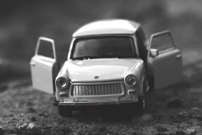 Old toy car ToyCar Sigma 105mm. 2.8 Macro Canon550D Retro Styled Toy No People Close-up Car Selective Focus Motor Vehicle Focus On Foreground Single Object Transportation Mode Of Transportation Day