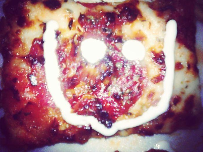 Pizza Face! \^o^/