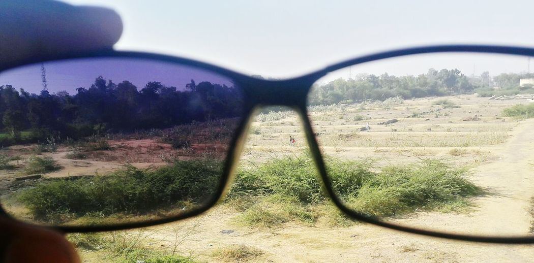 Pastel Power Poloroid Vision Is Seeing Beyond What's In Front Of You Shades Incredible India Incredible Gujarat Check This Out Clear Blue Sky Showing Imperfection