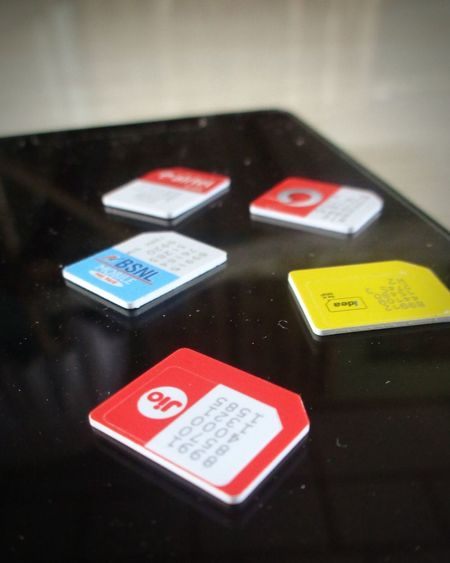 Red No People Business Finance And Industry Close-up Industry Outdoors Day Aimcards Simcard Sim Communication Simple Moment Exchange Phone