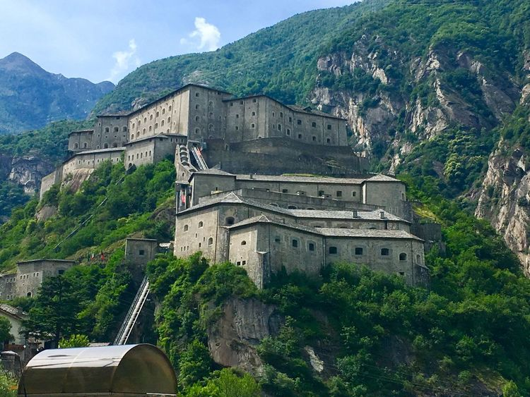 Fort forte bard Castle Built Structure hitecture] History Travel Destinations Aosta EyeEmNewHere