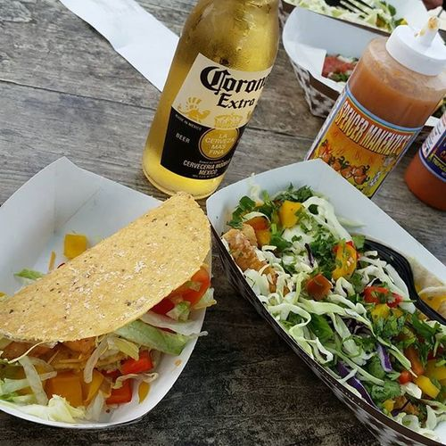FishTaco Calamarytaco Corona Beer Enjoy Withabestfriend