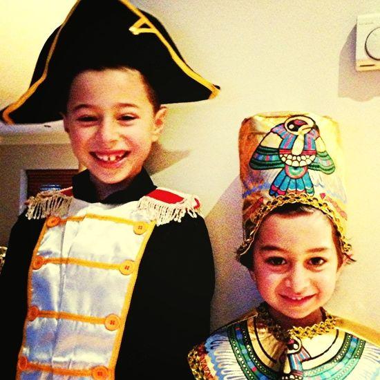 Napoleon & Eygptian Boy