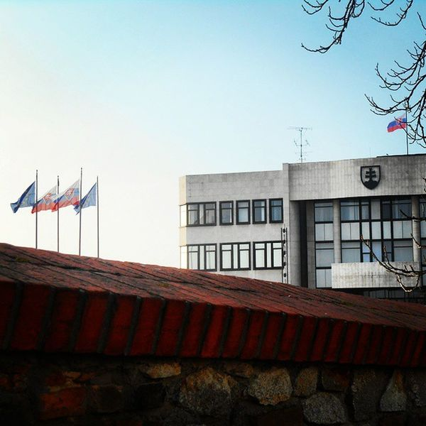 Pozsony Bratislava Parliament Slovakie Mik
