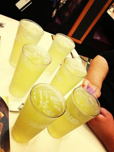 Peach Green Iced Tea @ Zippy's Kahala