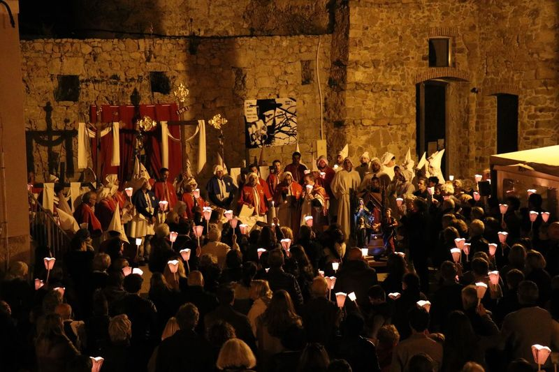 Grande procession du vendredi Saint à Porto-Vecchio Large Group Of People Night Real People Holywednesday SpyWednesday Holy Week Holy Wednesday Tradition Traditional Corse Corsica Korsica