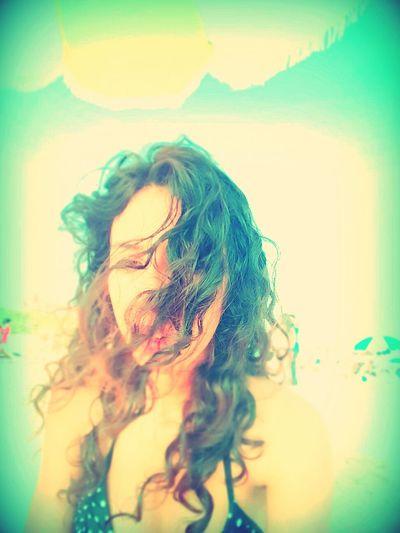 Beachtime♥♥ Funfunfunfunfunfun Natural Hair 😀😀😀