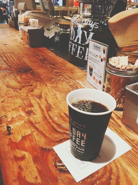 This coffee was amazing... Coffee Hotcoffee ALLDAYCOFFEE Granfrontosaka Delisious Happy Beautiful