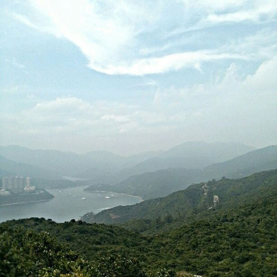 Oh how I Love Hk HongKong Onlyinhk hiking dragonsback latergram nofilter skyporn cloudporn @michellec1011 @timchang327