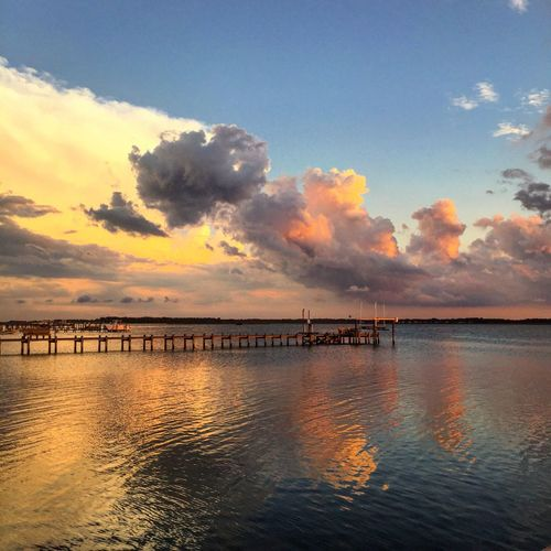 Check This Out Sunset OBX Beach Showcase July Clouds 😘😍❤️