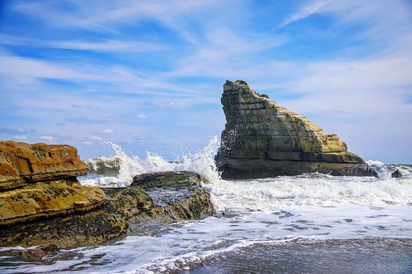 Sea Rock Formation Water Nature Sky Rock - Object Beauty In Nature Scenics Day Wave Tranquility No People Outdoors Beach EyeEm Gallery EyeEm Nature Lover EyeEm Best Shots Sigma Lens EyeEmNewHere