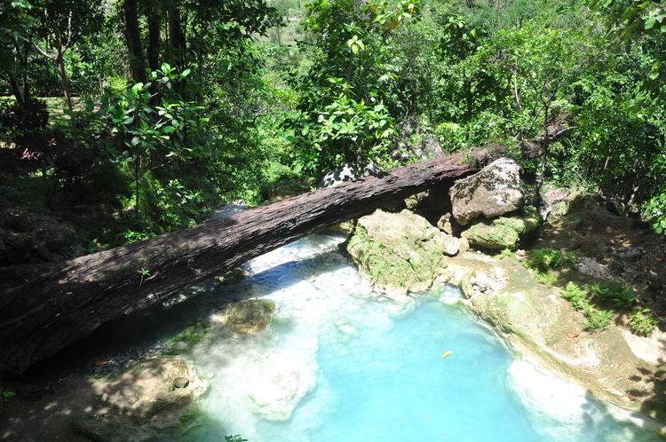 Mag-Aso Falls Travel Nature Nature Photography Kabankalan Negros Occidental Waterfall Bridge Log