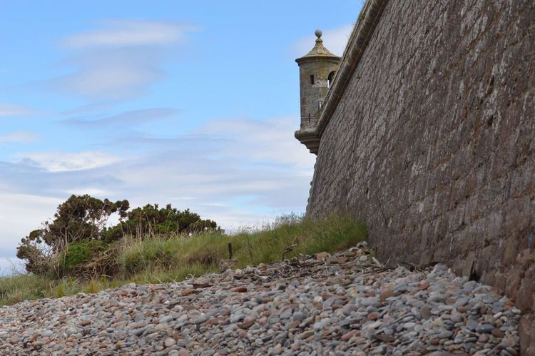 Architecture Sky History Built Structure Stone Material Low Angle View Fort Fort George Watch Tower Lookout Tower Stones Scotland Scottish Highlands