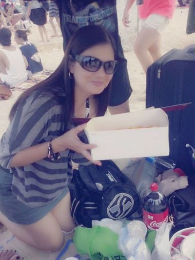 That's Me @ Shek O Beach With Family & Friends