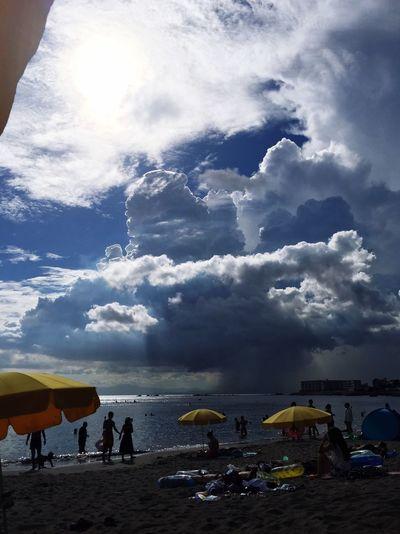 Beach Hayama Sea Tanning Cloud Summer Chilling
