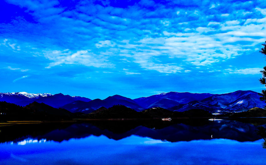 Landscape Diamond Mafia Photography Fine Art Photography Lake Lake Shastina C.a Mountains Sky Clouds And Sky Sharp Focus Reflections