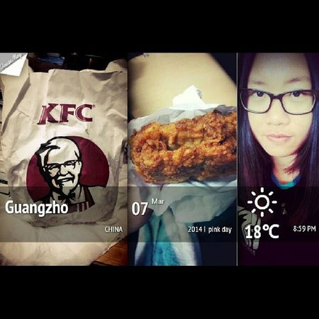 KFC Pinkday Love thanks for my dear roommate