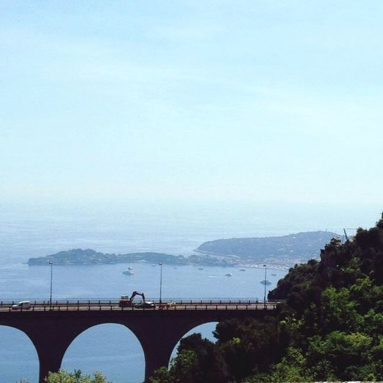 Sea Mare Blue Sky La Turbie Costa Azzurra Côte D'Azur Elegance Everywhere In Heaven Freedom France 😊