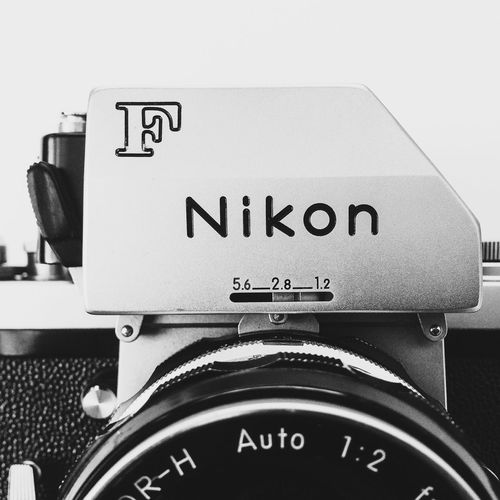 Classic 35mm Nikon F camera Nikon 35mm Camera Classic Film Camera Real Photography Chrome Body Camera Vintage Photomic Ftn