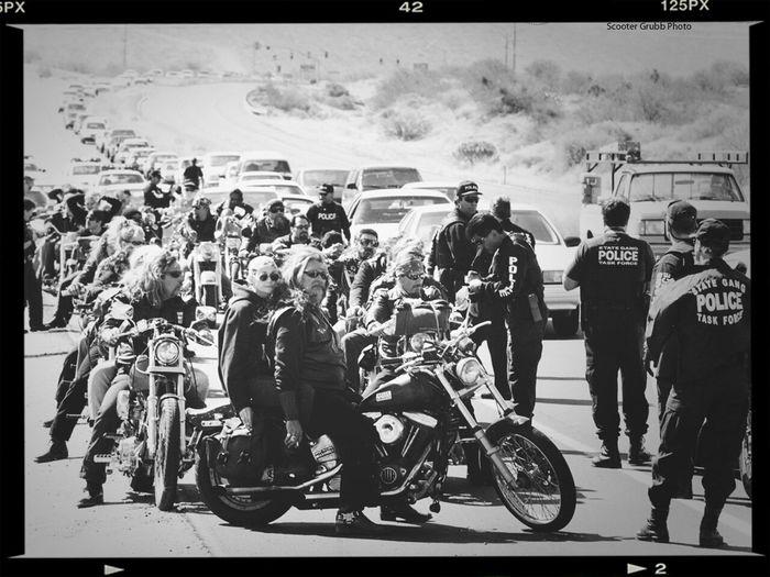 Harley Davidson Choppers Hells Angels Hamburg