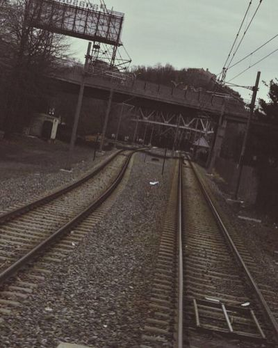 Dark Railroad Tracks Black And White Travel Speed Take Me There  Through Dark Eyes Twisted