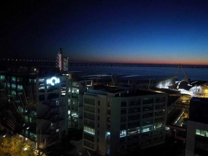 Lisboa Stories From The City Cityscape Urban Skyline Illuminated Skyscraper Nightlife Tree Astronomy Clear Sky Sky