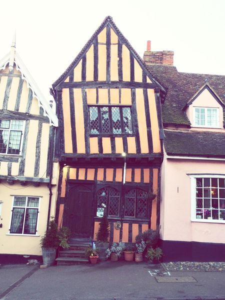 Suffolk Crooked Crooked House Lavenham Country House Building Suffolk, United Kingdom