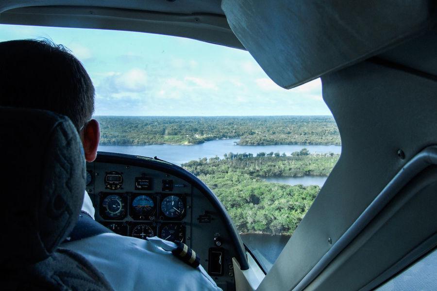 Amazon Amazon Basin Amazon Rainforest Amazonia Cockpit Exploration Flying Inside Plane Journey Looking Through Window Plane Interior Rainforest