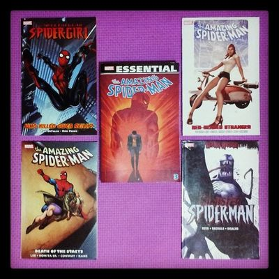 ( ̄∀ ̄) Who should be next? Marvel Comics Spiderman Spidergirl theamazingspiderman maryjanewatson gwenstacy sinisterspiderman