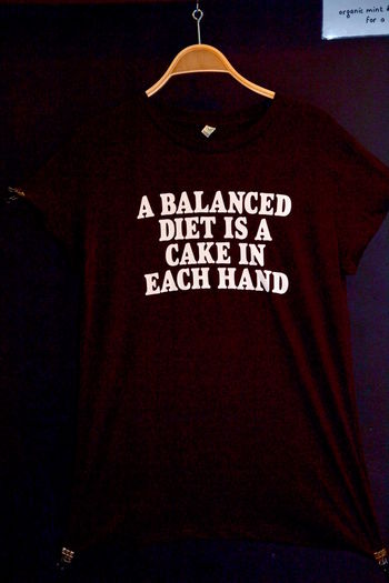 Balanced Diet Cake Close-up Clothing Coathanger Communication Day Diet Diet And Fitness Dieting Eat Cake Eat Cake :)  Eat Cake! Hanging Indoors  No People Text Western Script