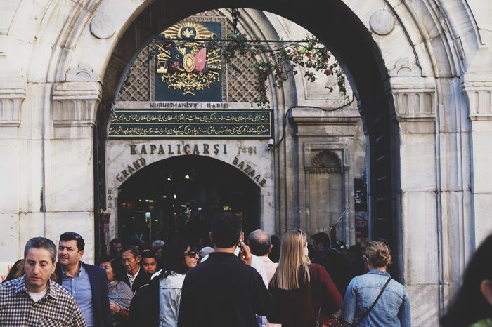 Everyday's life. Arch Large Group Of People Tourism Person Men Indoors  Travel Destinations Crowd Lifestyles Tourist City Life Archway Bazaar Grand Bazaar Istanbul Shopping People And Places In Front Of Entrance Tourist Destination Uniqueness The Street Photographer - 2017 EyeEm Awards Neighborhood Map Live For The Story