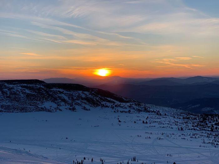 Шерегеш Sunset