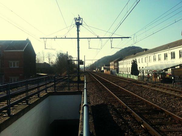 Taking Photos Samsung Galaxy S3 Urban Train Station