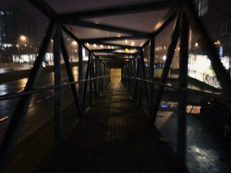 City Night Night Photography Bridge Walking Around The City  Blury IPhone 6s