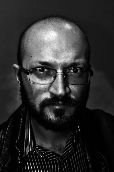 Glasses Beard Black And White Eyeglasses  Human Face Looking At Camera Mature Adult Mustache Portrait Portrait Of A Friend Real People Shaved Head Real People, Real Lives Intense Look Gaze Black Second Acts EyeEmNewHere